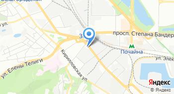 Компания Зеон на карте