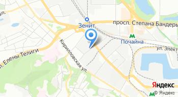 Украинский научно-исследовательский институт радиоаппаратуры на карте