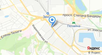 Компания Конструктив на карте