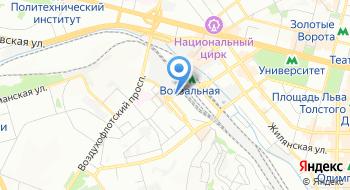 Интернет кафе на карте