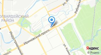 СТО-4 на карте