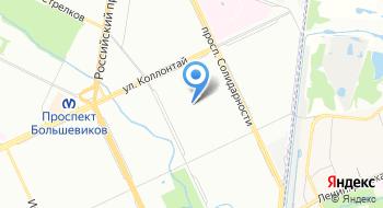 Детская поликлиника № 45 на карте