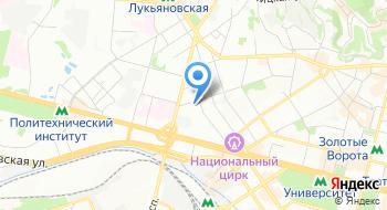 Корпорация Укрбудматериалы на карте