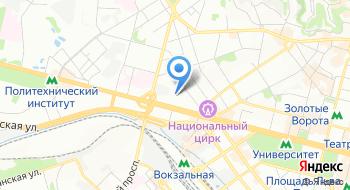 Террариум центр Бион на карте