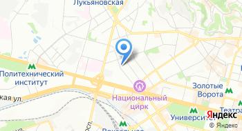 Автобусные перевозки Евроклуб на карте