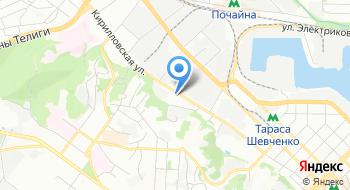 Киевский часовой завод на карте