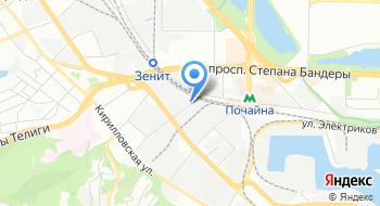Аста Украина на карте