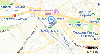 Общественный туалет на карте