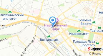 Компания Кроспостач на карте