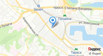 Ассоциация Укрлессервис на карте