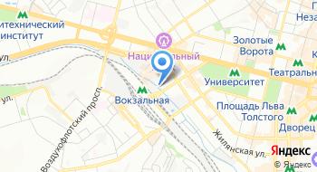 Автостанция Киев на карте