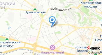 Киевский областной военный комиссариат на карте