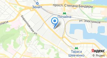 СТО UTC на карте