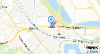 Специализированная лаборатория по вопросам экспертизы и исследований Государственной фискальной службы Украины на карте