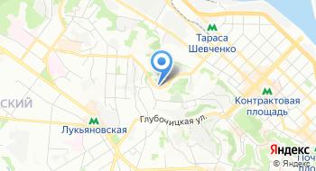 Военная часть 3078 Национальной Гвардии Украины на карте