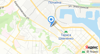 Визовый центр Франции в г. Киев на карте