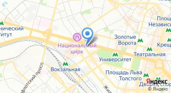 Смарт-кафе BiblioTech на карте