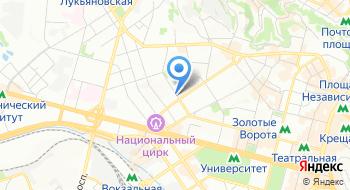 Санатории и здравницы Украины на карте