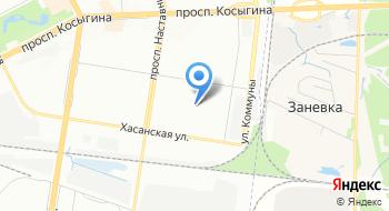 Копиант на карте