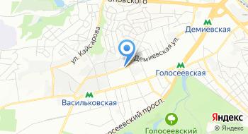 Витражная композиция на карте