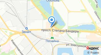 Компания Лина на карте