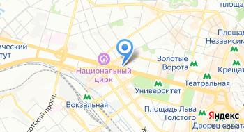 Киевский профессиональный колледж с усиленной военной и физической подготовкой на карте