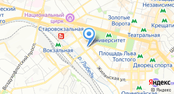 Международная организация Корпус мира США в Украине на карте