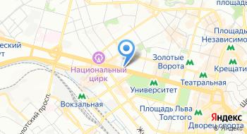 Национальный заслуженный академический украинский народный хор Украины имени Г.Г. Веревки на карте
