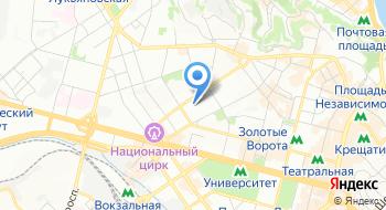 Первый украинский часовой завод Киевская Русь на карте