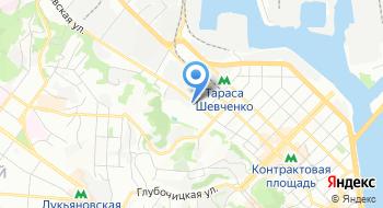 Магазин канцелярии Культтовары Украина на карте