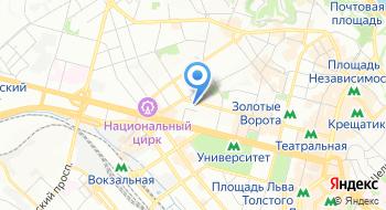 Киевская торгово-промышленная палата на карте