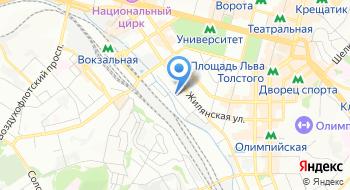 Курьерская служба Terminova на карте