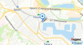 Выставочный магазин Кои Киев на карте