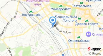 Компания Рено Украина, филиал на карте