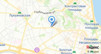 Государственная финансовая инспекция в городе Киеве на карте