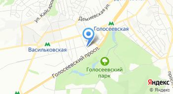 Автошкола при Киевском региональном высшем профессиональном училище строительства на карте