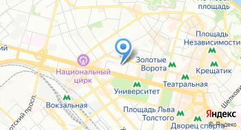 Киевская клиническая больница на железнодорожном транспорте №1 на карте