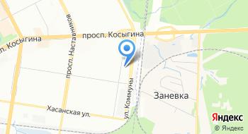 Автобусная конечная станция на карте