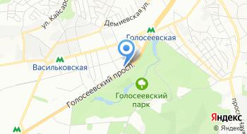 КП Центр здоровья Голосеевского района на карте
