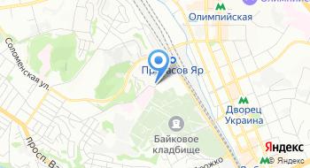 ГУ Украинский центр контроля за социально опасными болезнями МОЗ Украины на карте