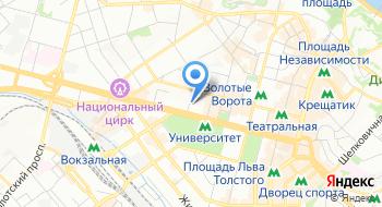 Счетная палата на карте
