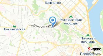 Кинологический центр ГУ МВД Украины в г. Киеве на карте