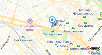 Hilton Kyiv на карте