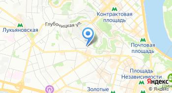 Киевский областной лечебно-физкультурный диспансер на карте