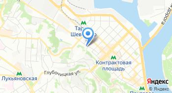 Авиакомпания Украинские вертолеты на карте