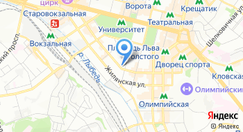 Национальный экологический центр Украины на карте