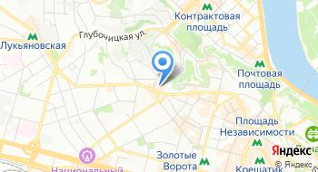 Государственная фискальная служба Украины на карте