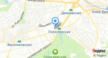 Компания Киевстандарт на карте