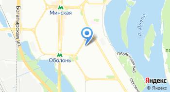 Церковь Иисуса Христа святых последних дней, Оболонский филиал на карте