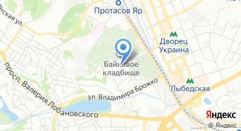 Киевская скульптурная мастерская на карте